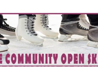 Free Community Open Skate Presented by 1st Summit Bank